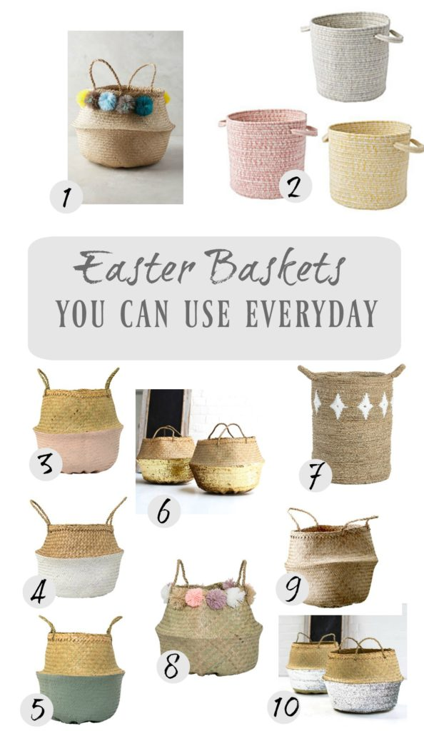 Friday Favorites- Easter Baskets You Can Use Everday