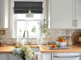 Roman Shades- Roman Shades Kitchen- How to measure for Roman Shades
