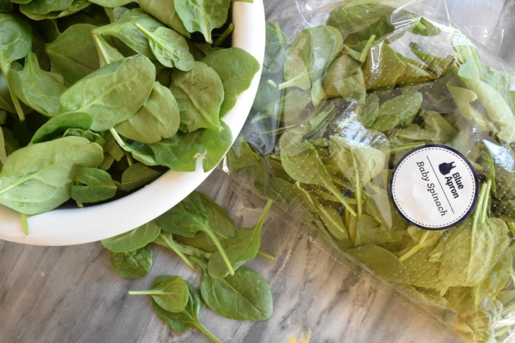 Avoid Food Waste- 5 Tips including freezing spinach for smoothies and soups