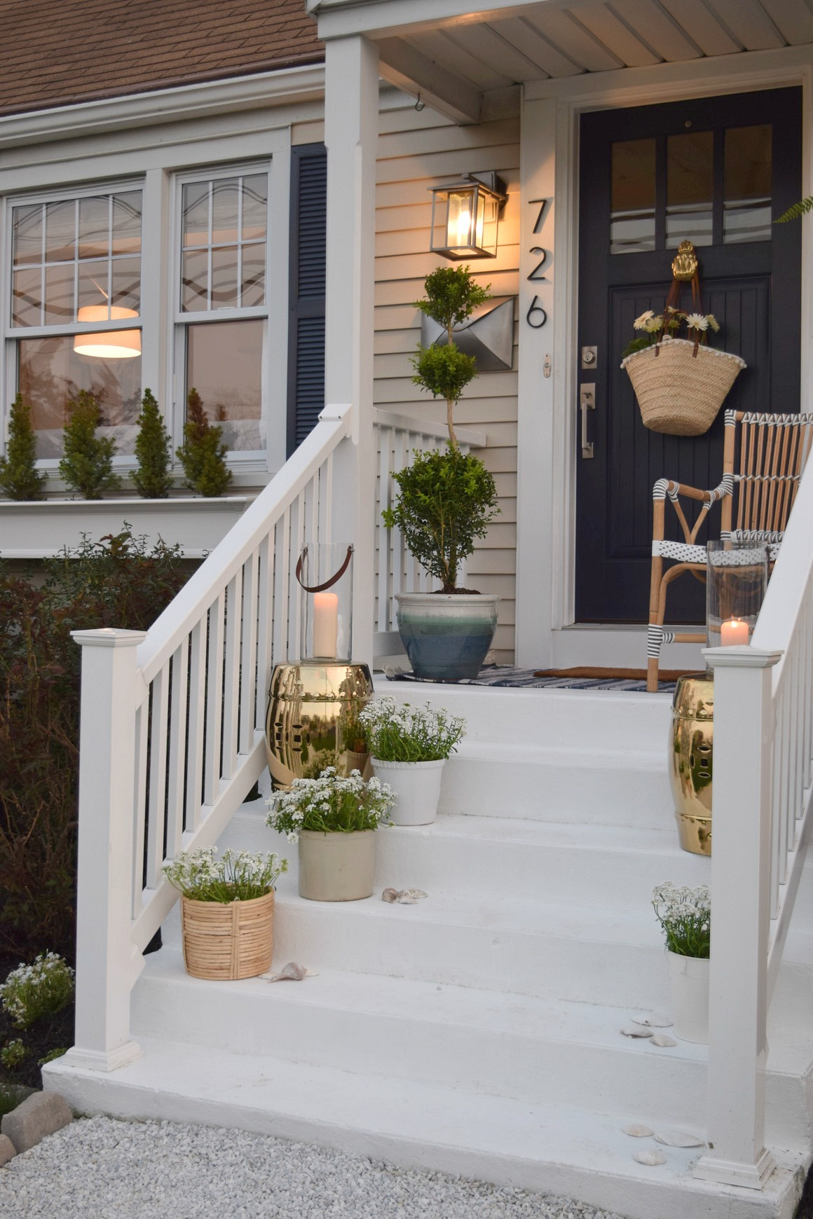 Front Porch Ideas and Designing the Outdoors - Nesting ... on Patio Renovation Ideas id=14430