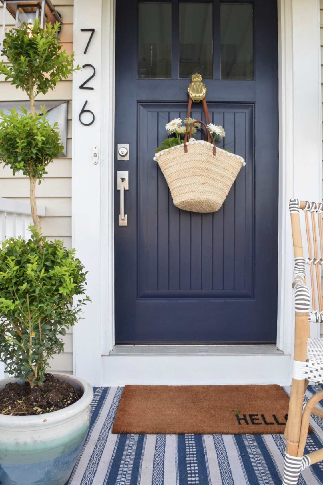 Front Porch Ideas and Designing the Outdoors - Nesting ... on Door Color Ideas  id=91669
