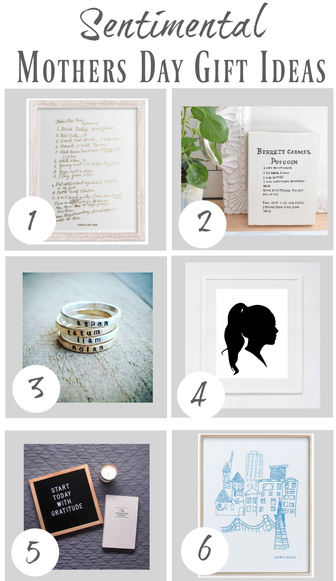 Sentimental Mothers Day Gifts And Diy Art Nesting With Grace