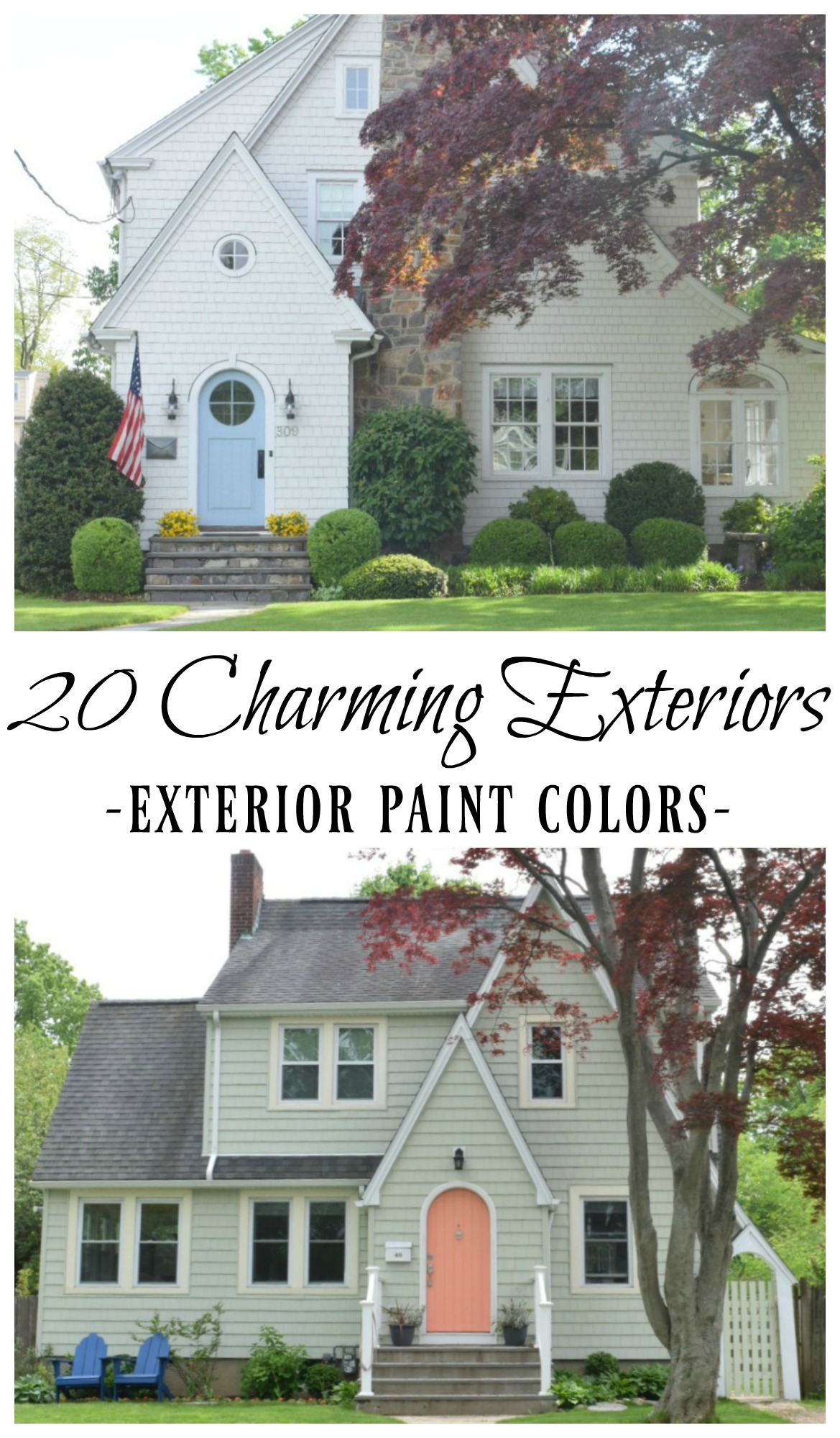 Super New England Homes Exterior Paint Color Ideas Nesting With Home Interior And Landscaping Elinuenasavecom