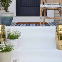 Favorite Painted Cement Ideas- And DIY cementing painting tips
