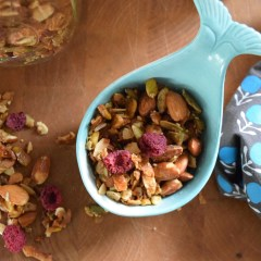 Take Home Designer Series- New England Kitchen Tour of a Dietitian and her Paleo Granola