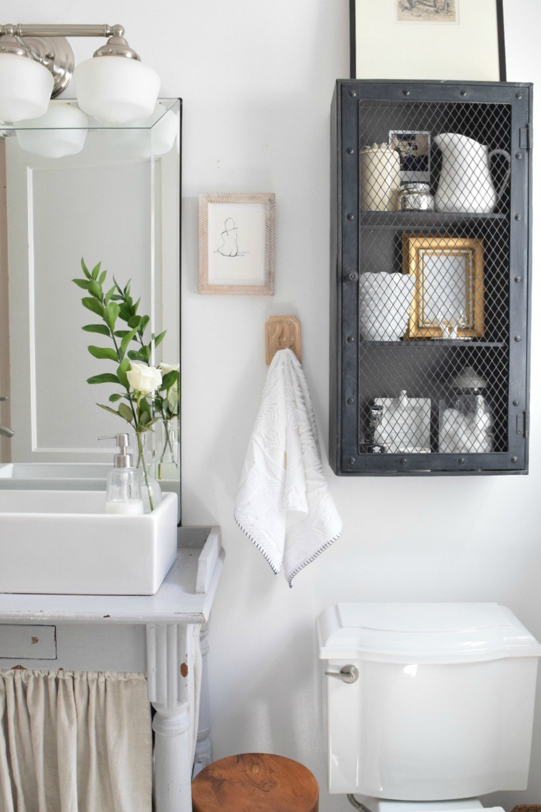 Small Bathroom Ideas and Solutions in our Tiny Cape ... on Bathroom Ideas Small  id=21383