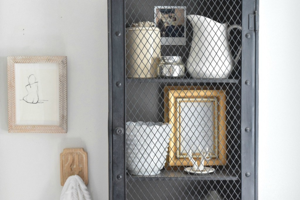Small Bathroom Ideas- Storage in our Tiny Cape
