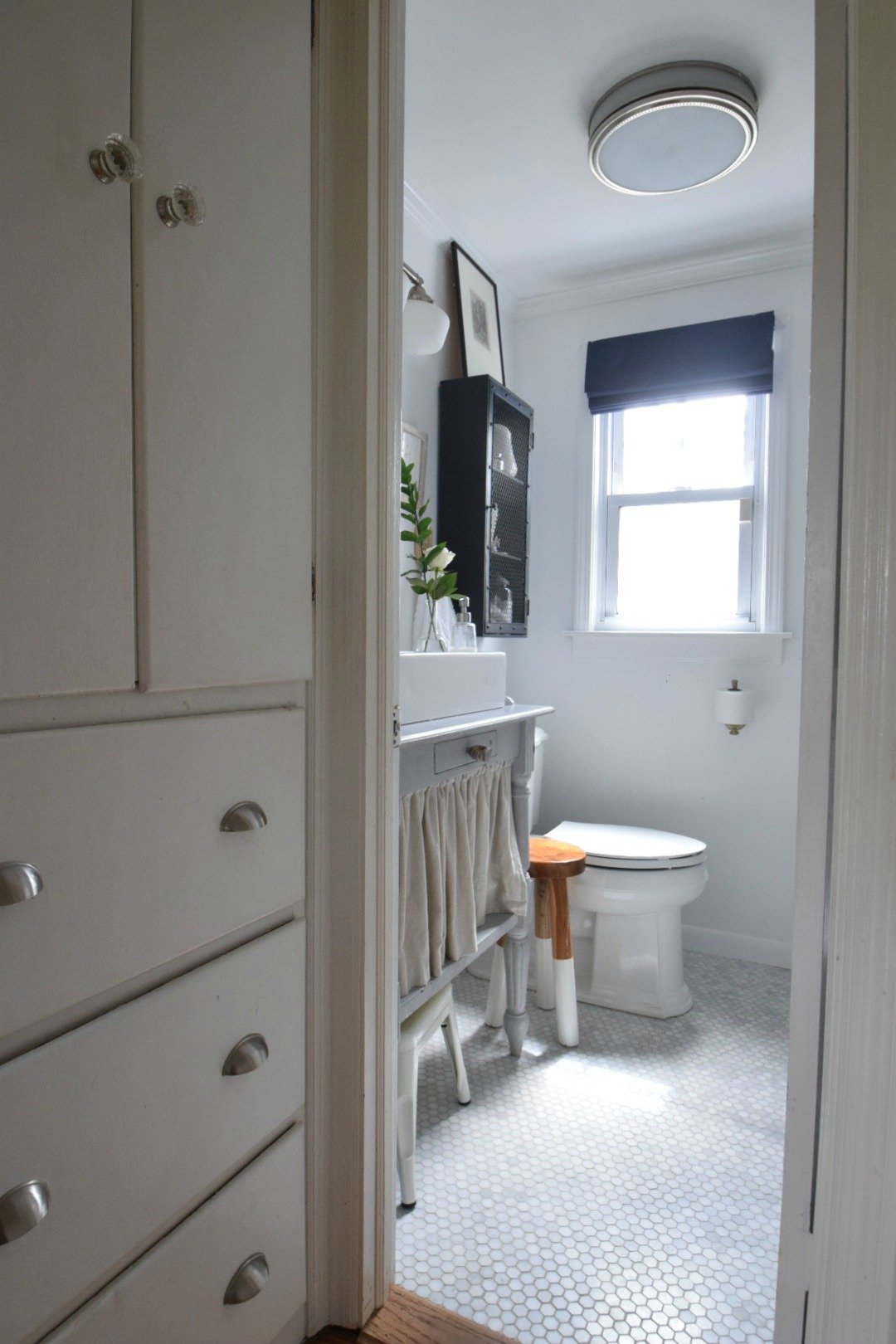 Small Bathroom Ideas and Solutions in our Tiny Cape ... on Bathroom Ideas Small  id=13745
