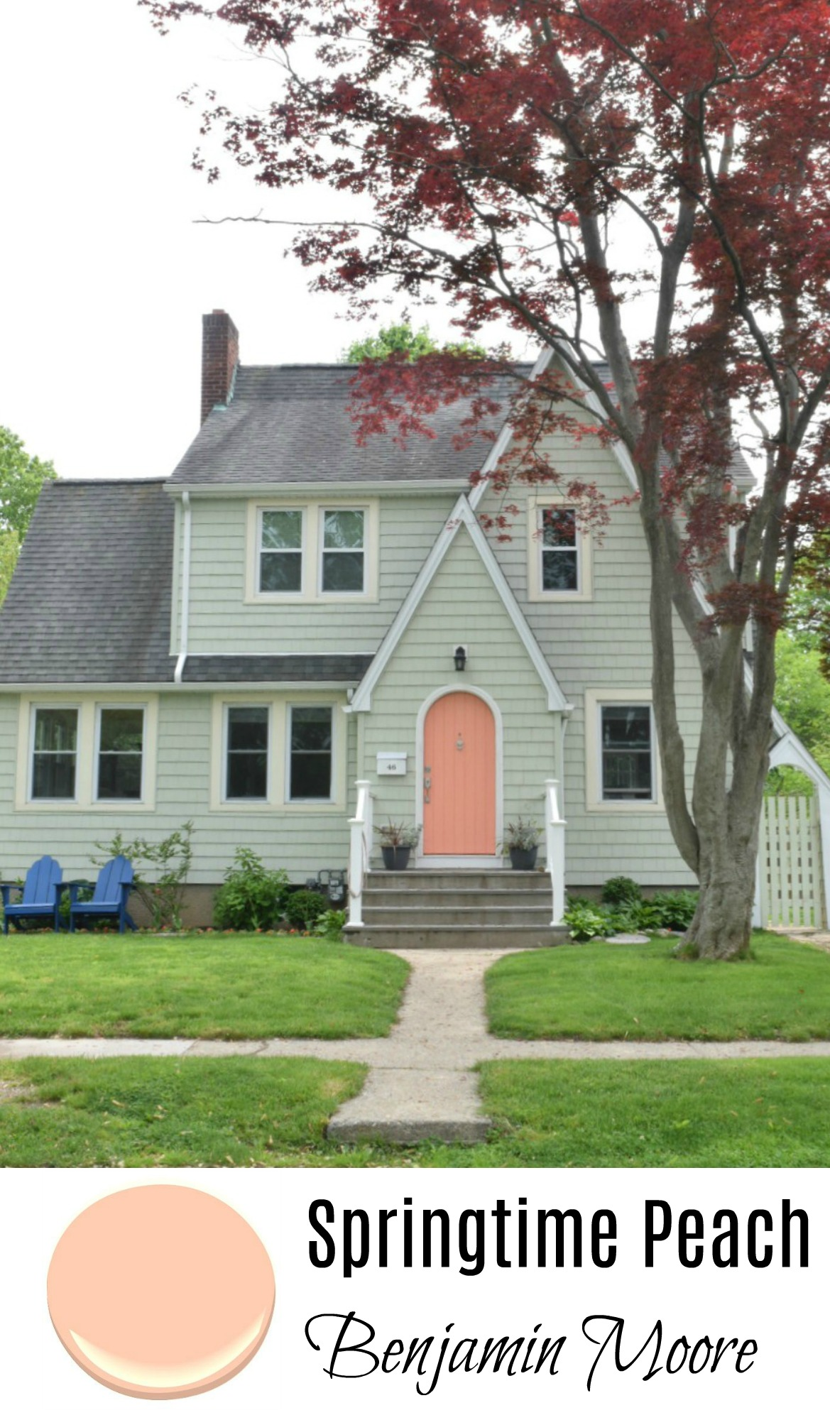 New England Homes- Exterior Paint Color Ideas - Nesting With Grace