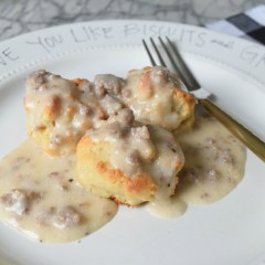 I love you like Biscuits and Gravy- Paleo Recipe too!