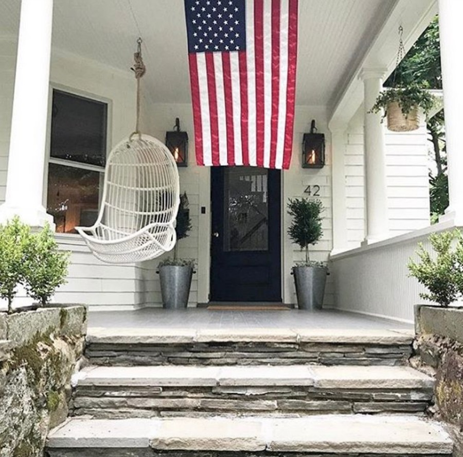 Friday Favorites- Hanging Chair on Porch