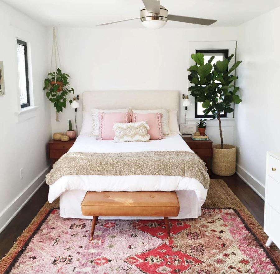 Friday Favorites- Modern Ceiling Fan in Master Bedroom