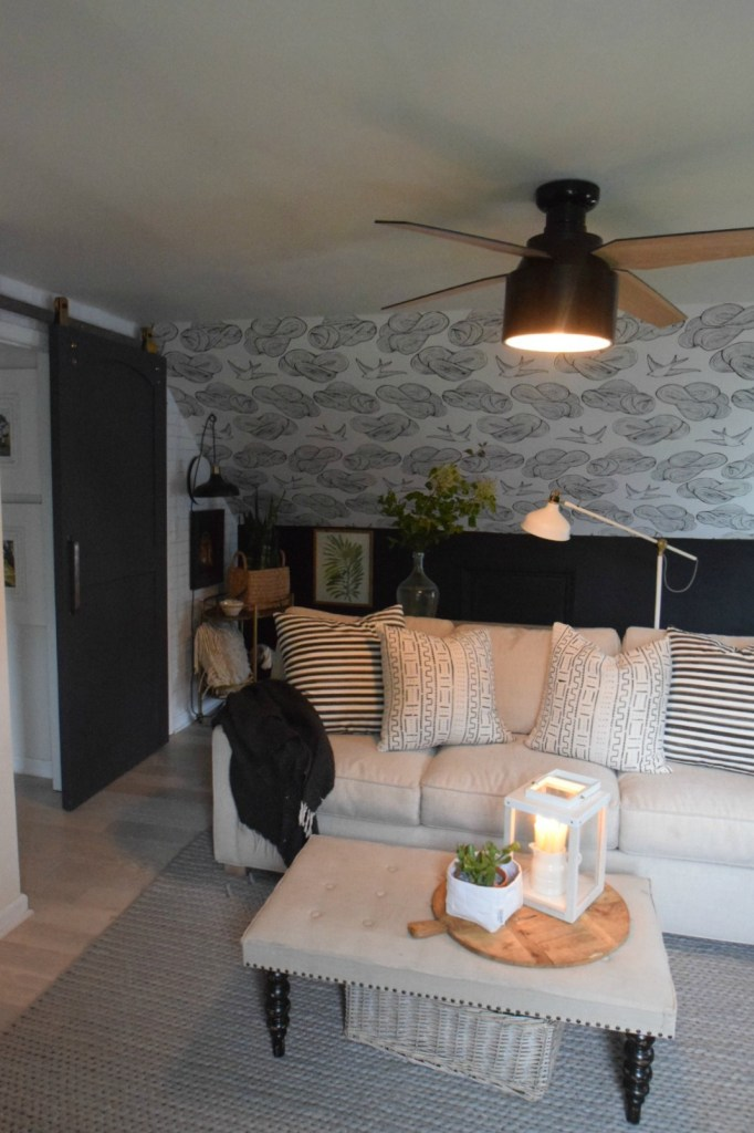Modern and Stylish Ceiling Fans- Family Room Ceiling Fan Update