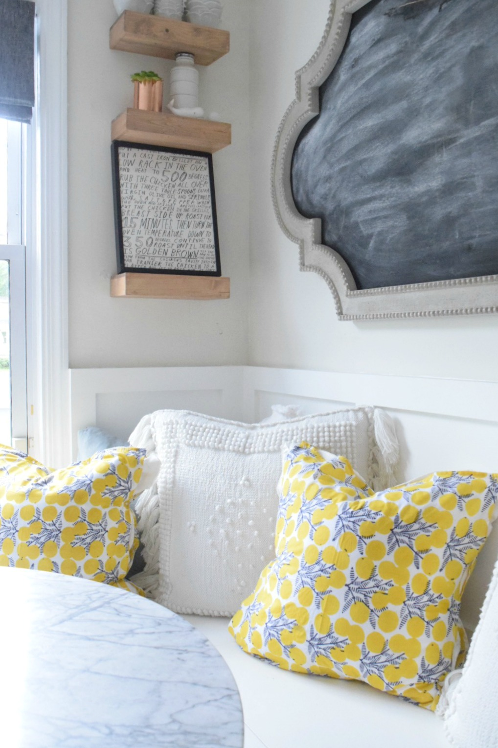 no sew pillows easy diy nesting with grace. Black Bedroom Furniture Sets. Home Design Ideas
