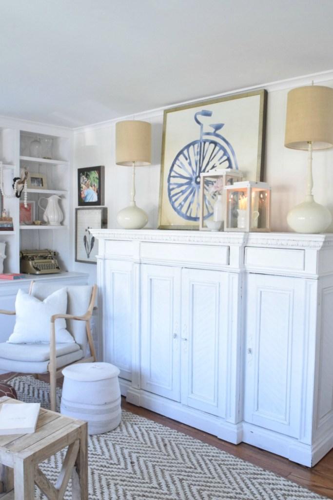 Summer Home Decor- Family Room- Home Decor Ideas 010