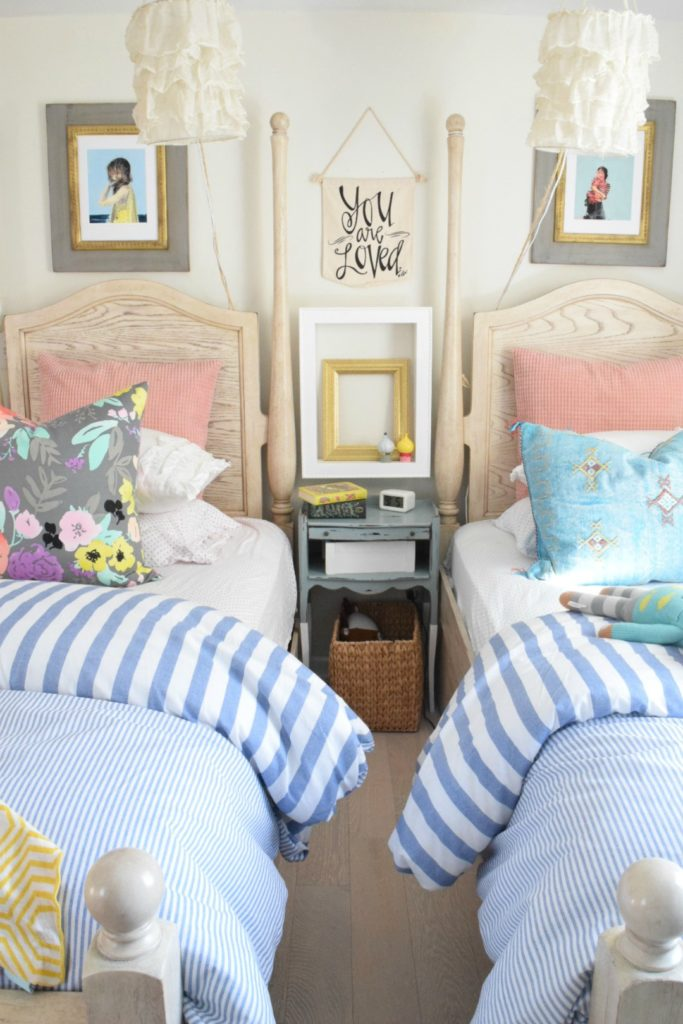 Summer Home Decor Ideas- Our Summer Tour 2017 - Nesting ... on Girls Room Decoration  id=79842