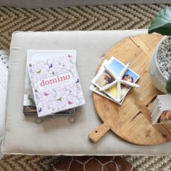 Coffee table ideas- because baby is walking….almost