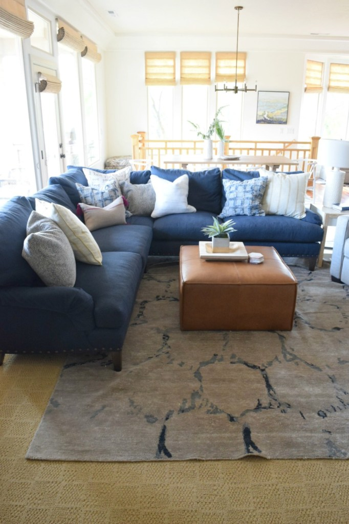 Great Room Update- with Modern Decor