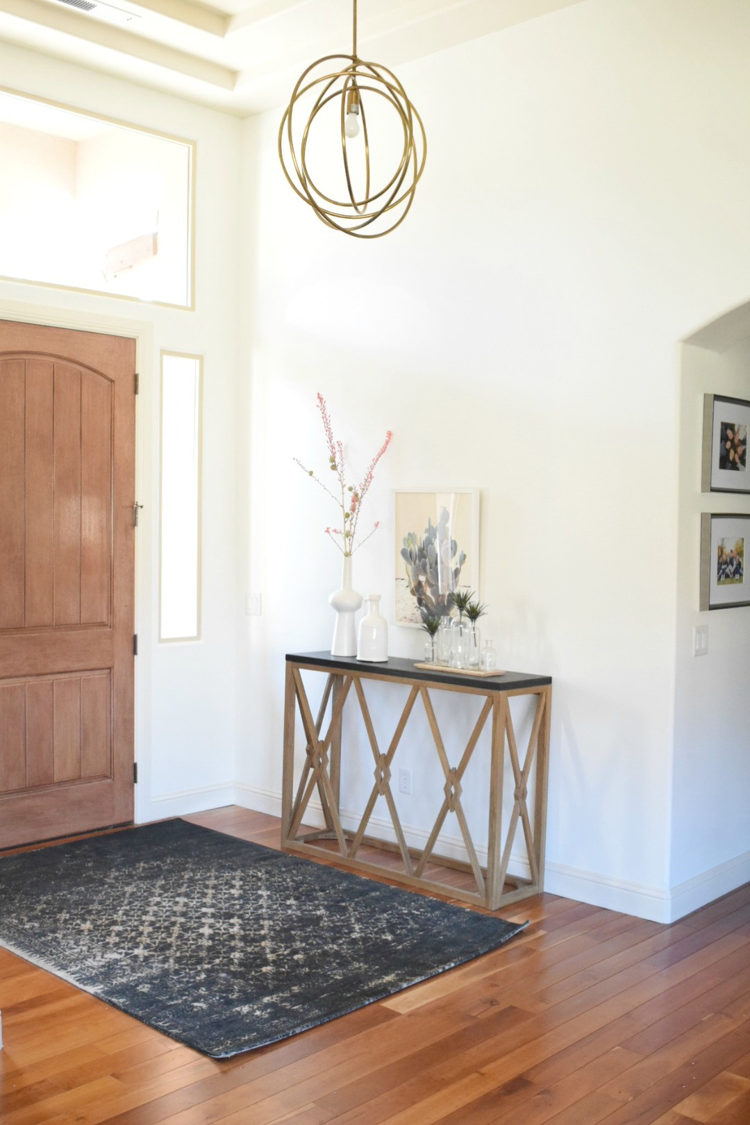 Modern Home Refresh with Simply White Paint - Nesting With Grace