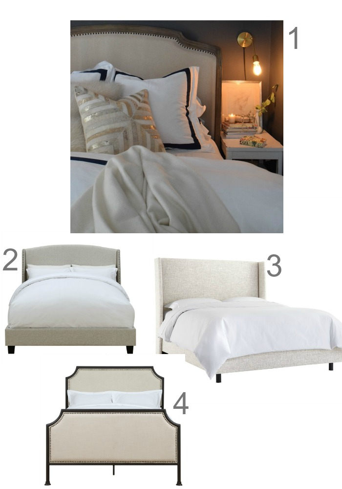 Friday Favorites- Inexpensive Upholstered Beds