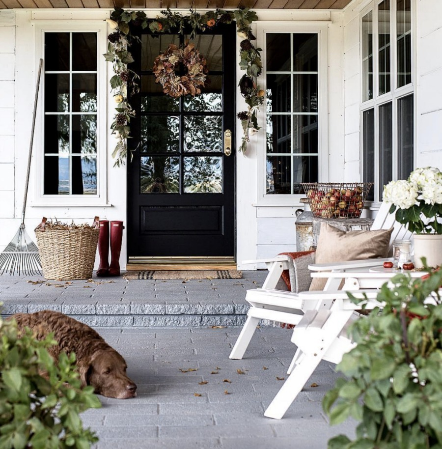 Fall Front Porch Inspiration and Ideas