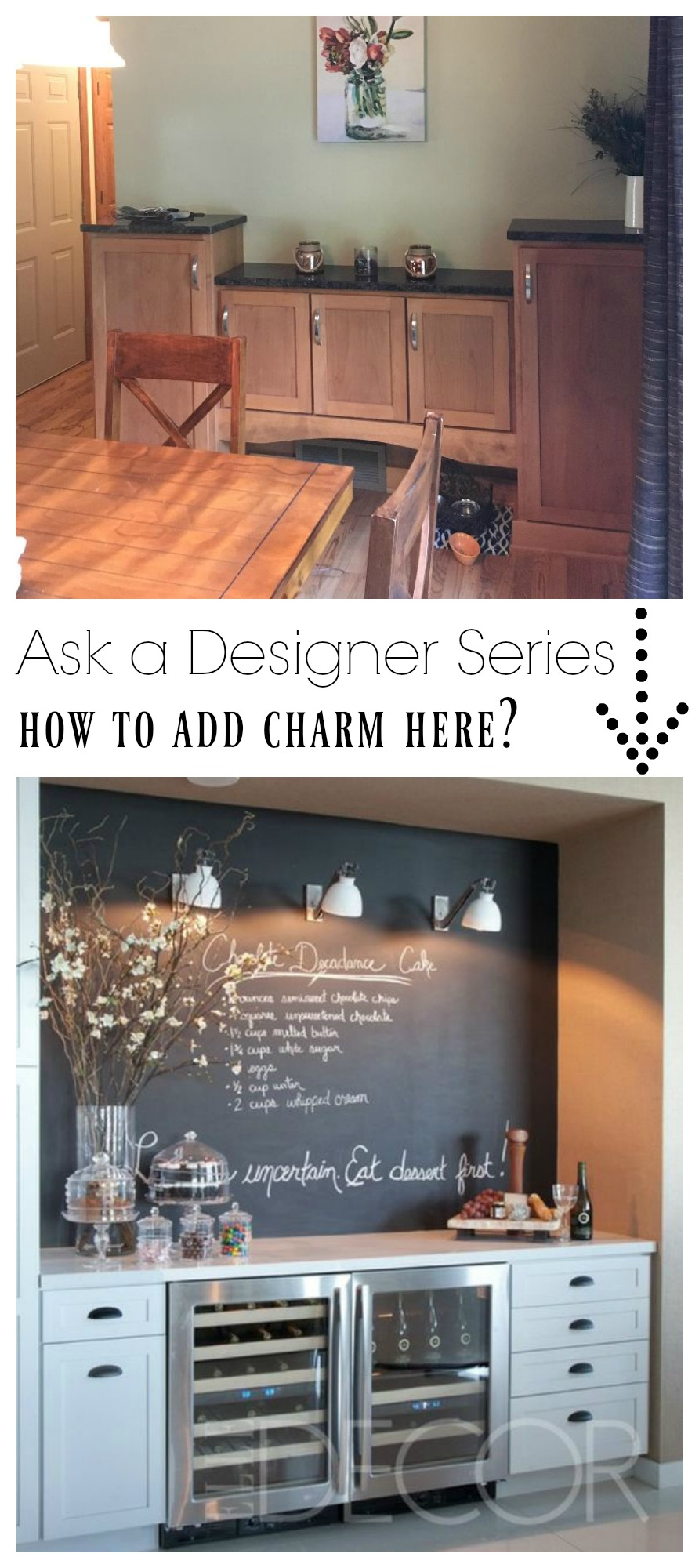 Ask a Designer Series- How to add charm to dining space?