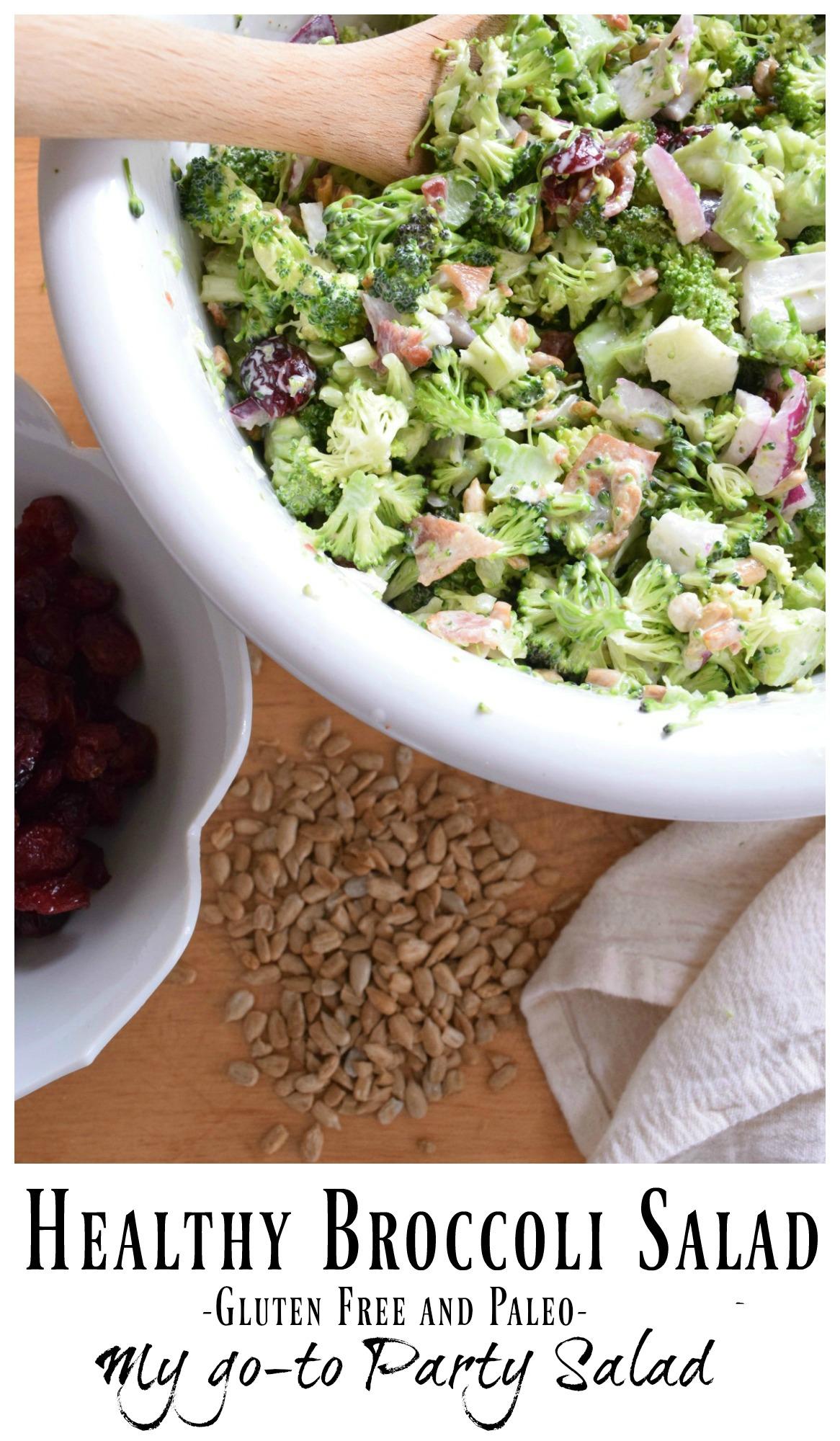 Broccoli Salad- Best Side Salad- Paleo and Gluten Free