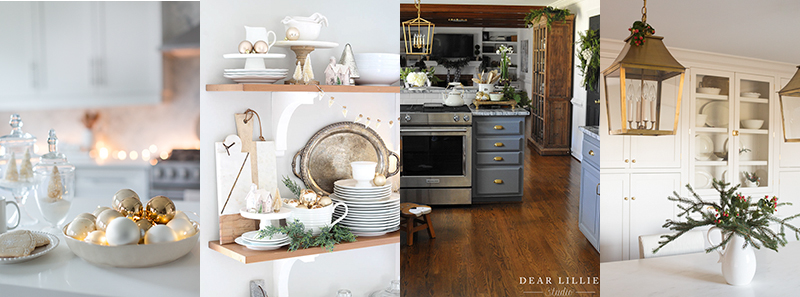 Christmas Decor- Kitchen Home Tour
