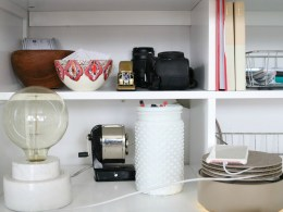 How to Manage Cords and Papers- Organizing Small Spaces