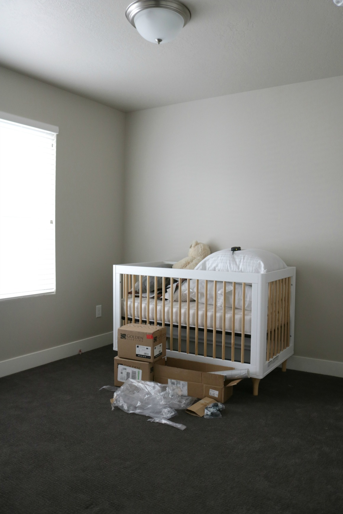 Nursery Project- Design Plan with Window Seat
