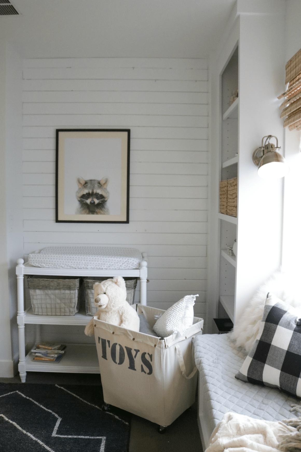 Baby Room Wallpaper Wood
