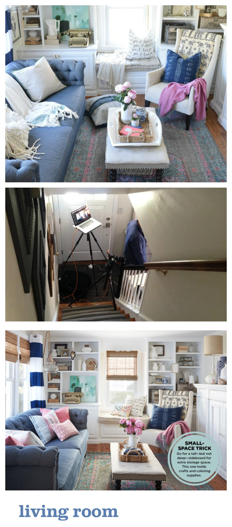 Behind the Scenes of an HGTV Magazine Shoot