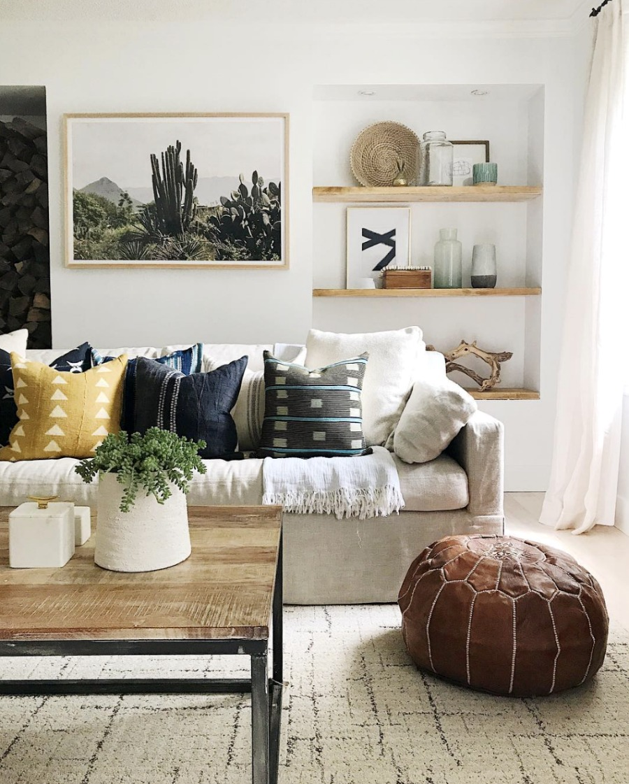 How To Mix Color And Patterns With Pillows The Pillow Rules