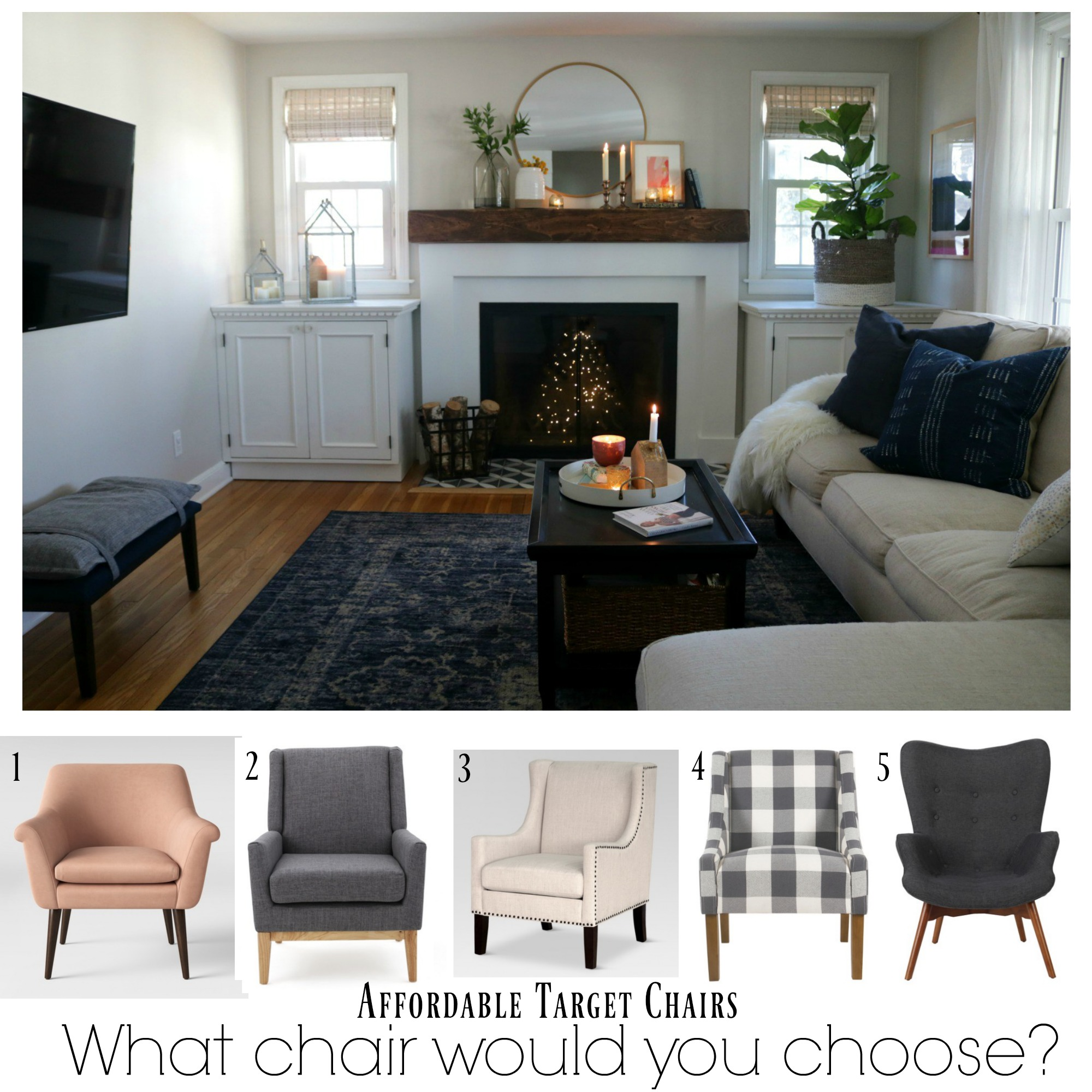 Affordable Target Chairs- What one would you choose?