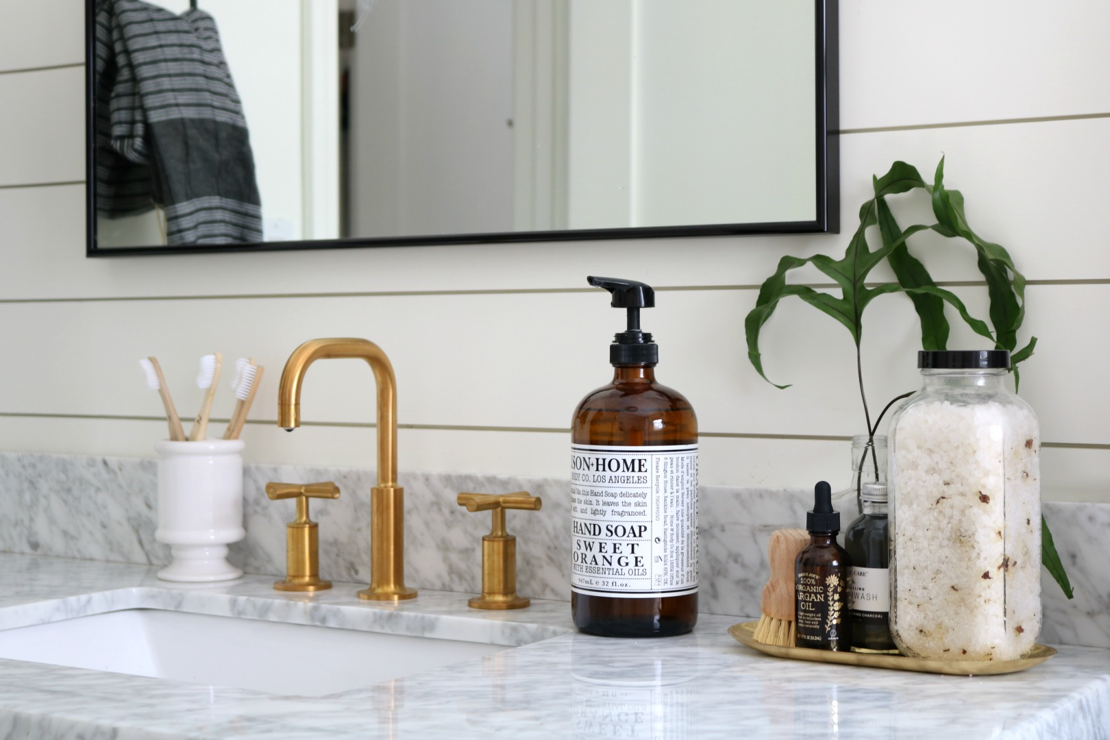 Upstairs Bathroom Remodel- The Reveal! - Nesting With Grace