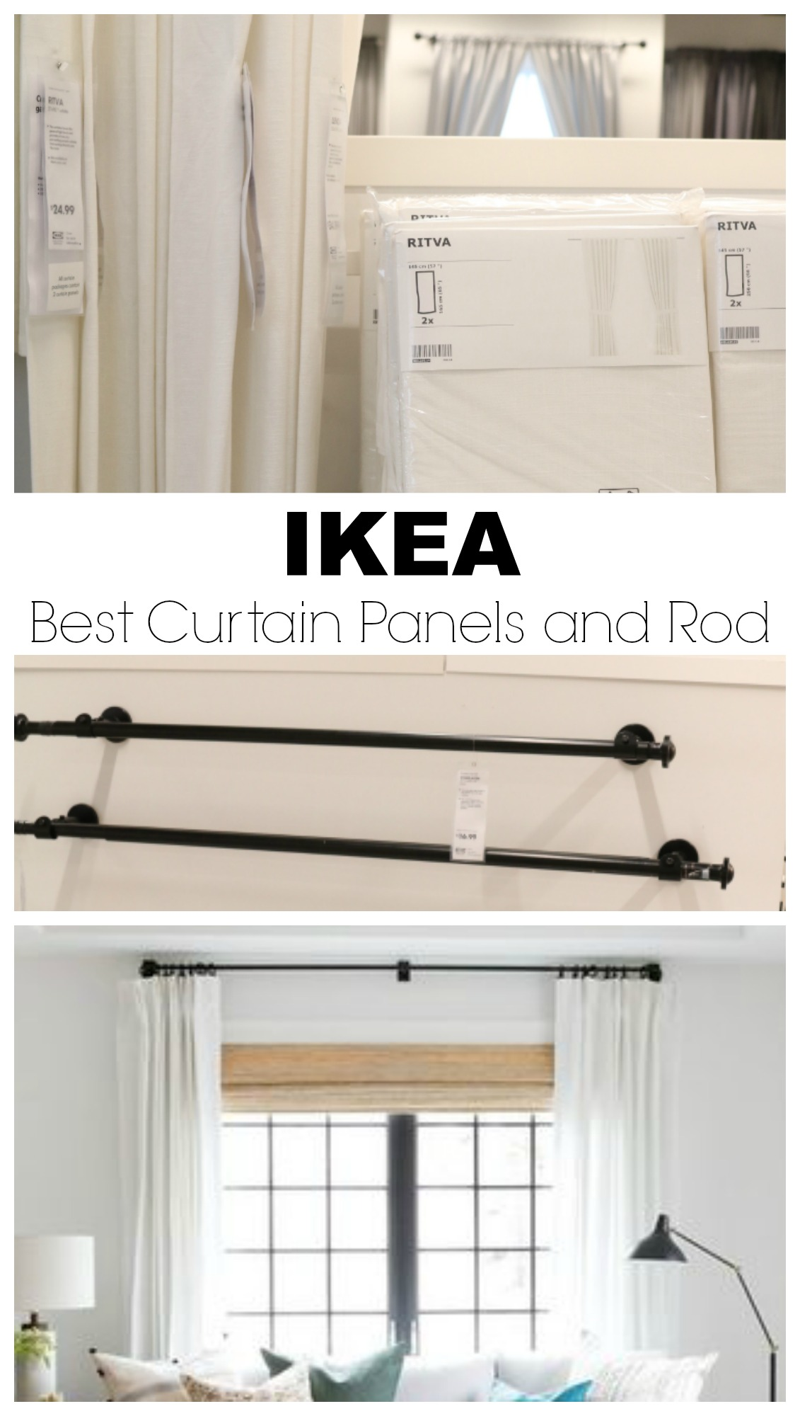 17 Images About Build Ikea Panel Curtain On Pinterest: IKEA Finds- What I Bought And What I Love