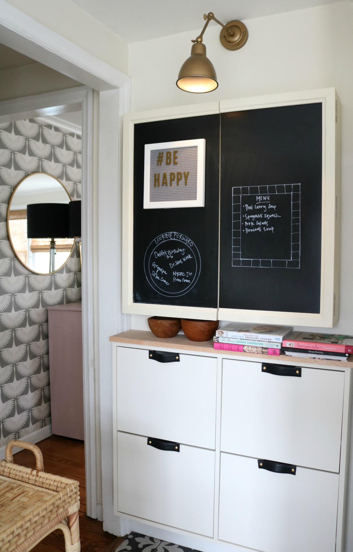 IKEA Hack- Stall Cabinet in a Small Kitchen
