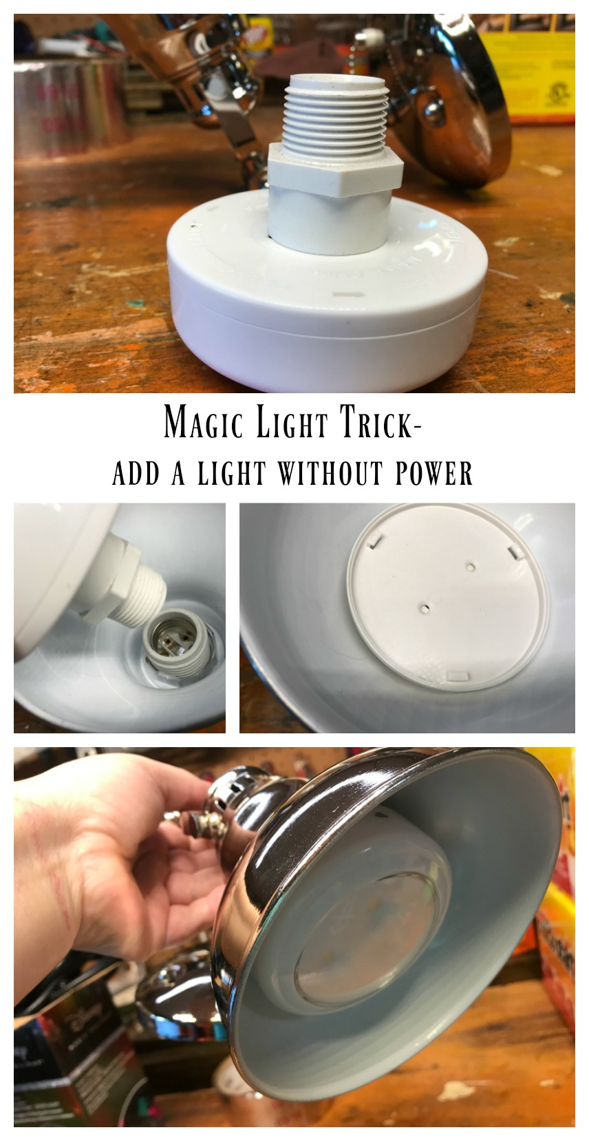 Magic Light Trick- Add a light without power