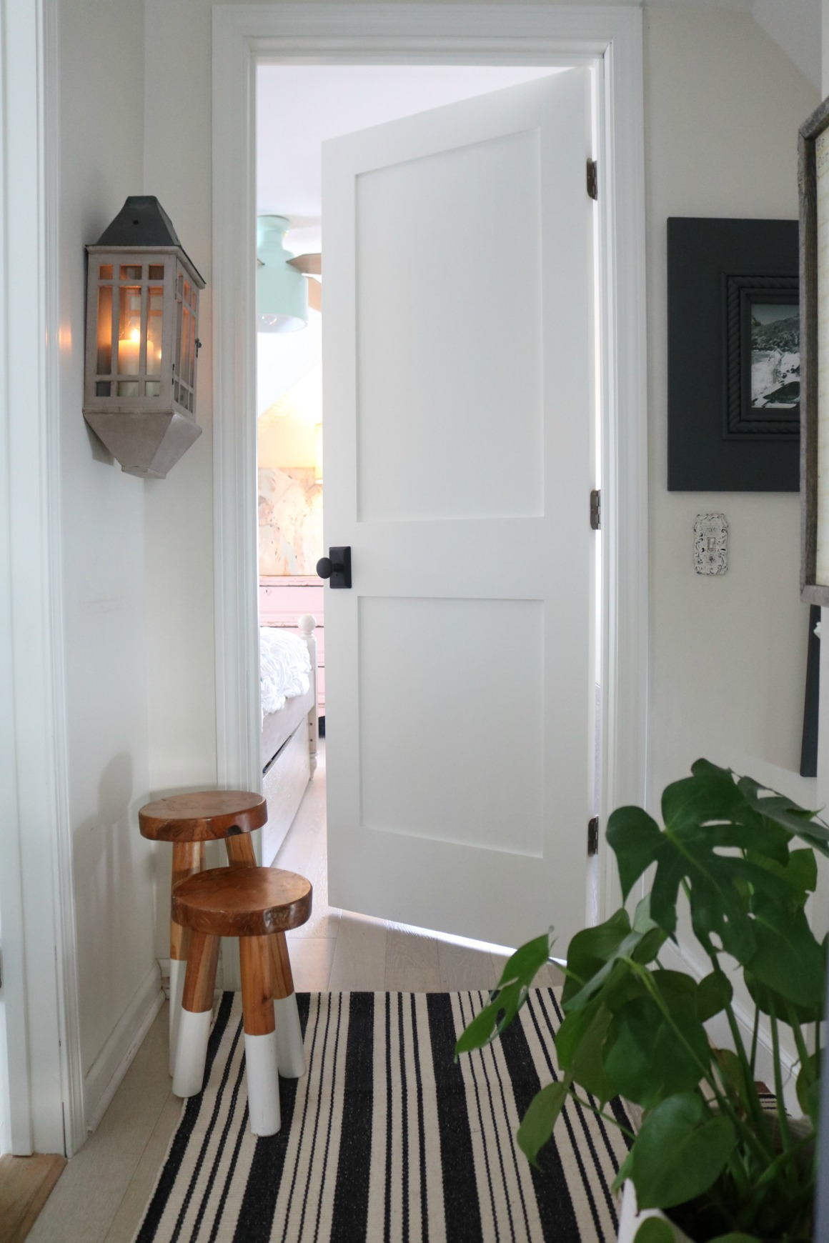 Wooden Internal Doors With: Spring Home Tour With Video Tour Of Our 1100 Square Foot
