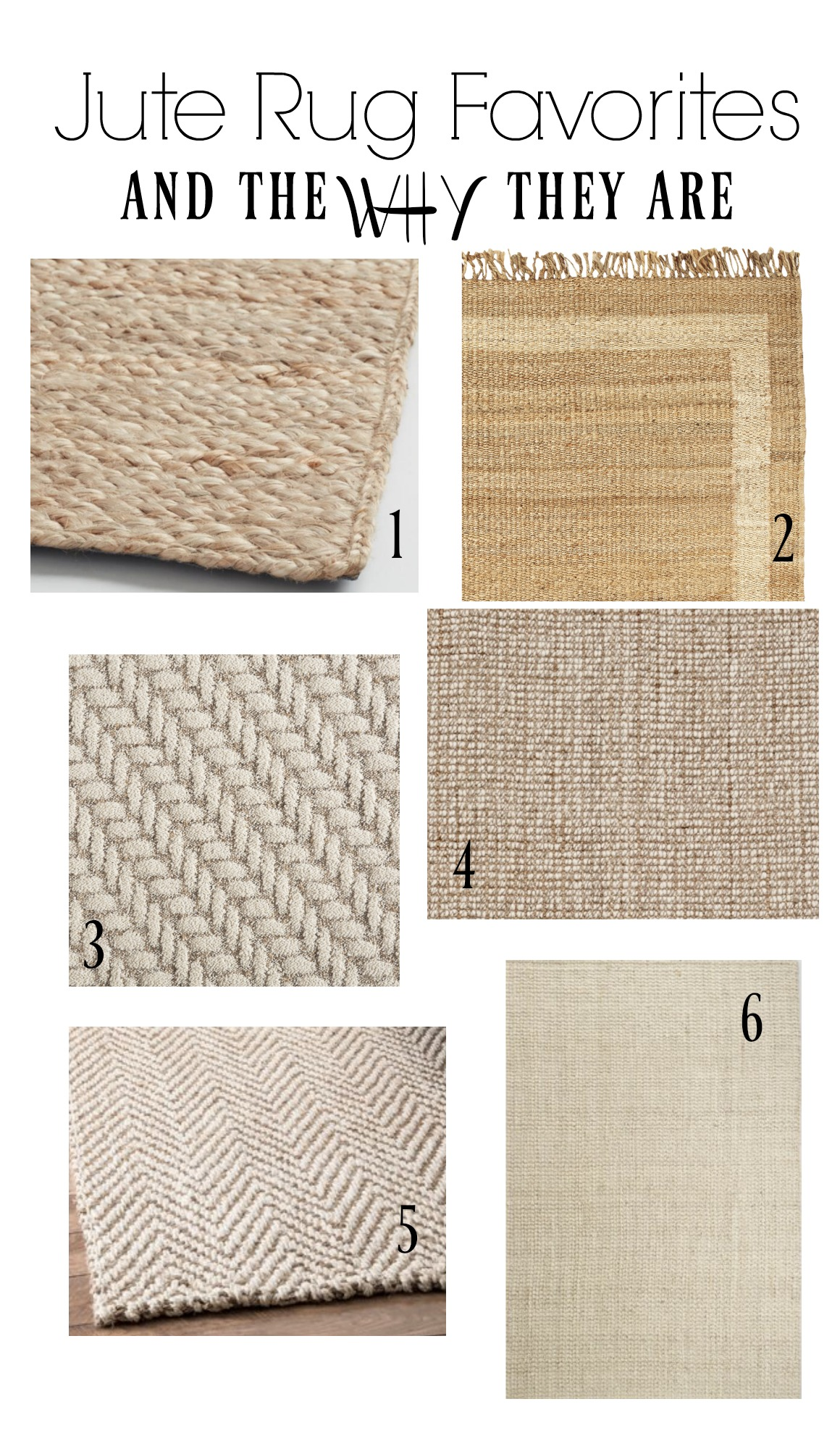Jute Rug Favorites- Top Rugs