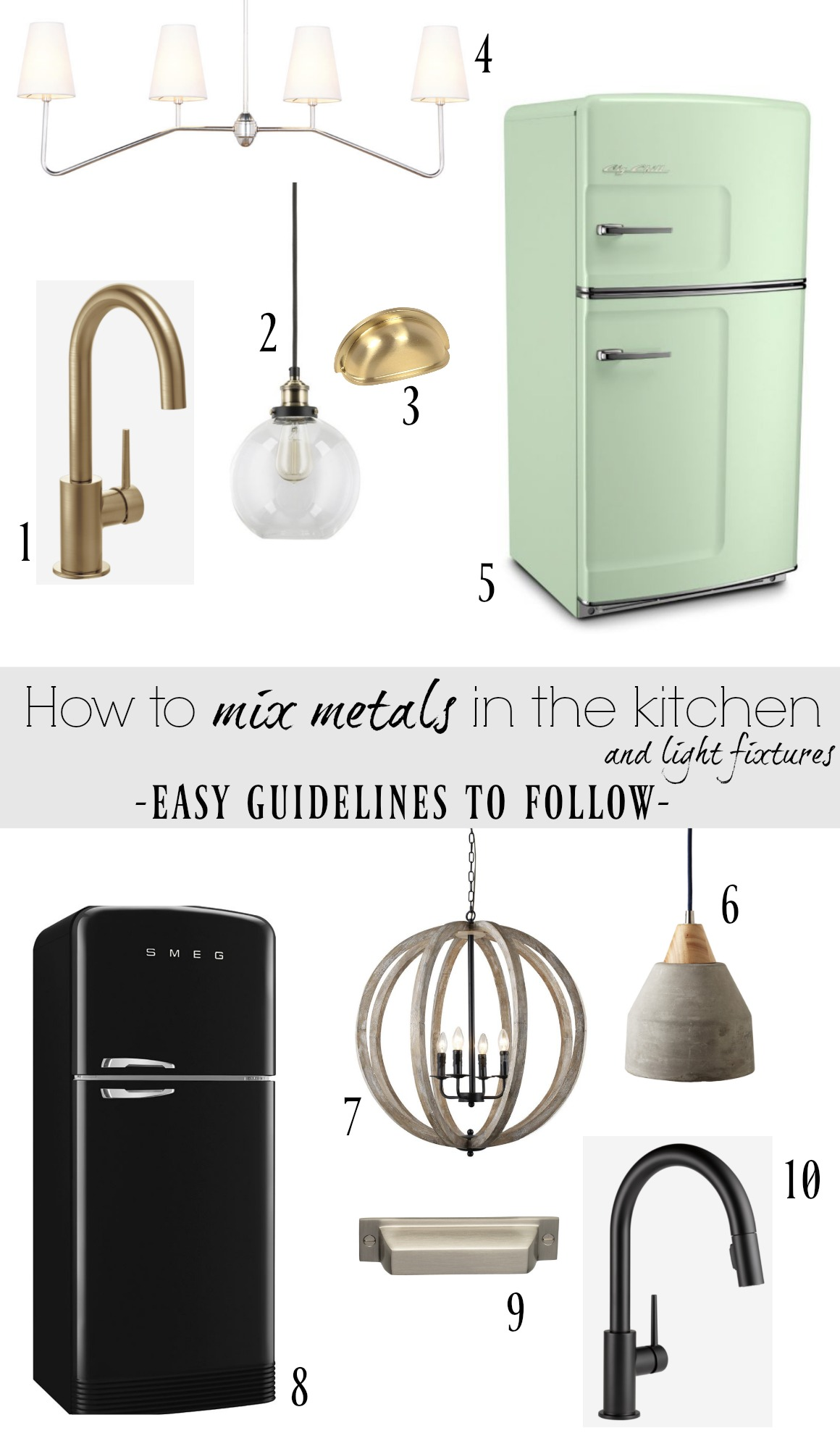 How To Mix Metals In The Kitchen And Our Kitchen Faucet Nesting With Grace
