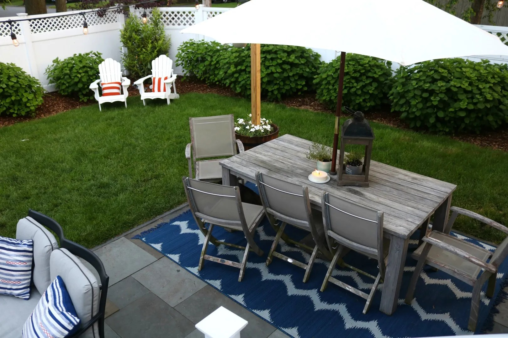 Backyard Patio Outdoor Furniture For Small Spaces Nesting With Grace
