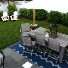 Backyard Patio- Outdoor Furniture for Small Spaces
