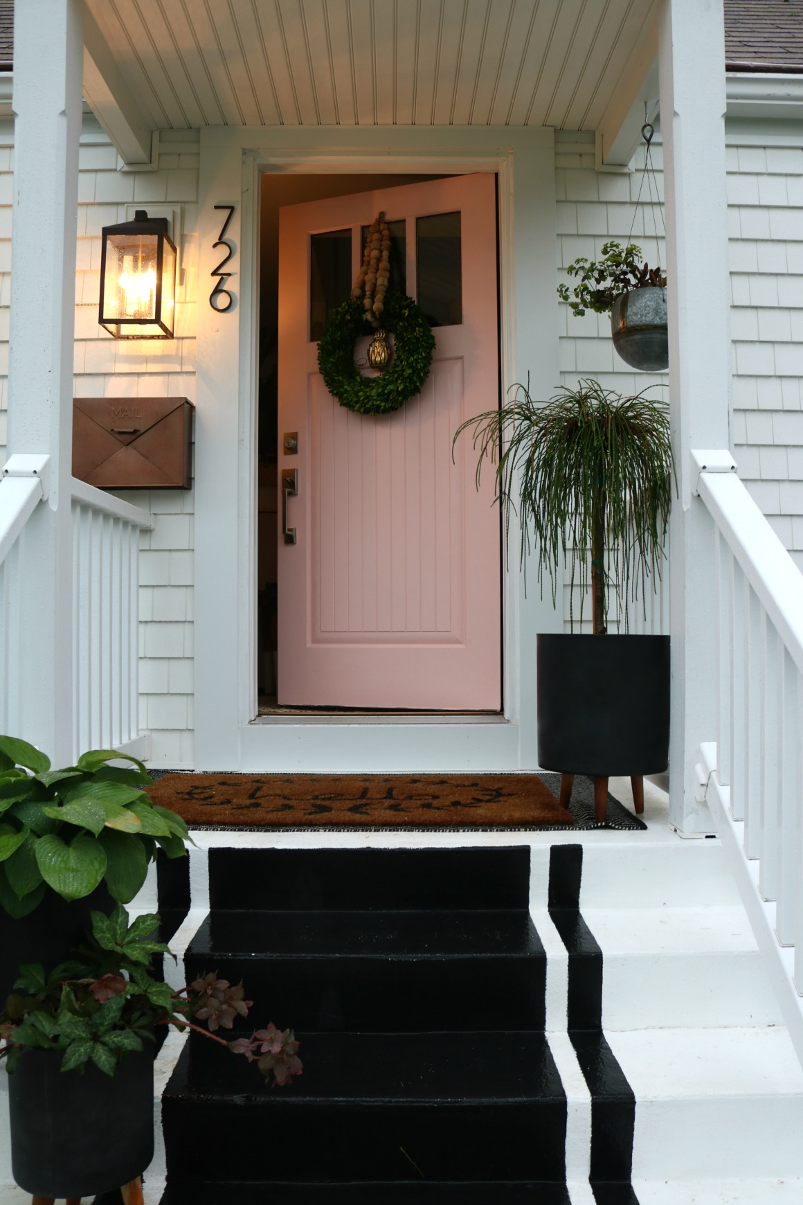 Friday Favorites Porches Awning And Fall Doormats