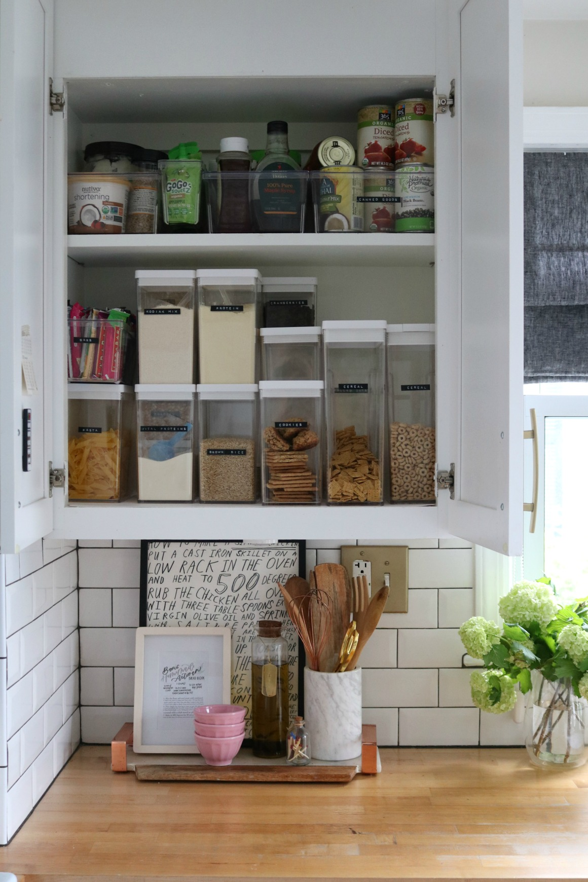 Small Space Living Series- Kitchen Cabinets and Organizing ...