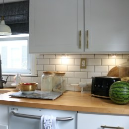 Small Space Living Series- Kitchen Cabinets and Organizing Tips
