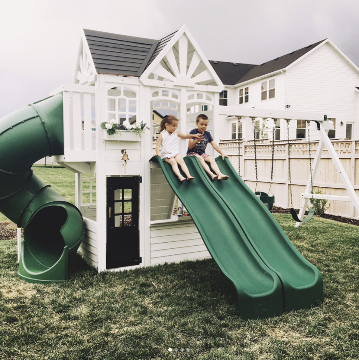 Painted Playhouse Ideas
