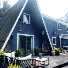 Small Space Living Series- 800 Square Foot- A-Frame Home