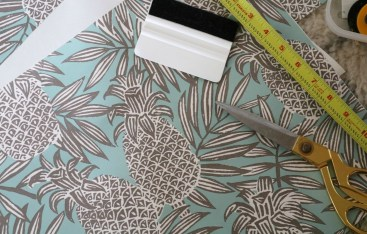 Wallpaper in unexpected place- Peel and Stick Wallpaper