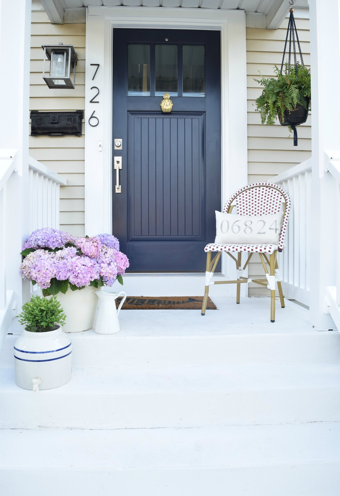 How to Paint your Front Door- Learn from our Mistakes